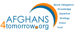 The Afghans4Tomorrow Logo