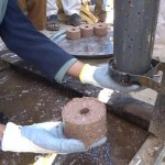 finished briquette, A4T training program in Nangarhar