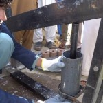 making briquettes_A4T_training_program-Nangarhar_10-2014