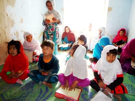 1st Grade literacy class, Girls Home Schools, Wardak Prov. 11-12-14