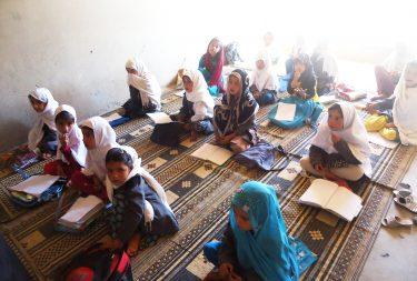 3rd grade literacy class, A4T Girls School, Wardak Province, 2016